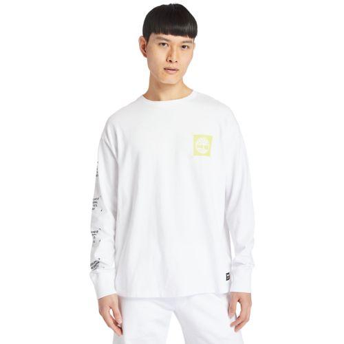 Men's Hi-Vis Garment-Dyed Long-Sleeve Tee-