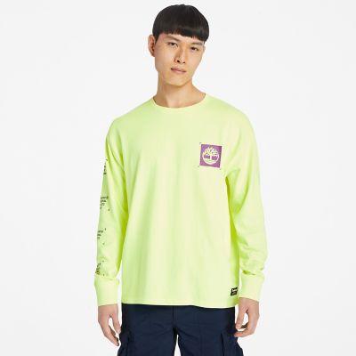 Men's Hi-Vis Garment-Dyed Long-Sleeve Tee