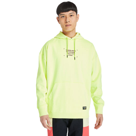 Men's Hi-Vis Garment-Dyed Graphic Hoodie