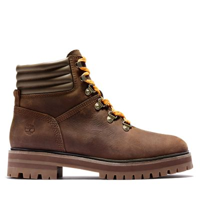 Women's London Square Lace-Up Boots