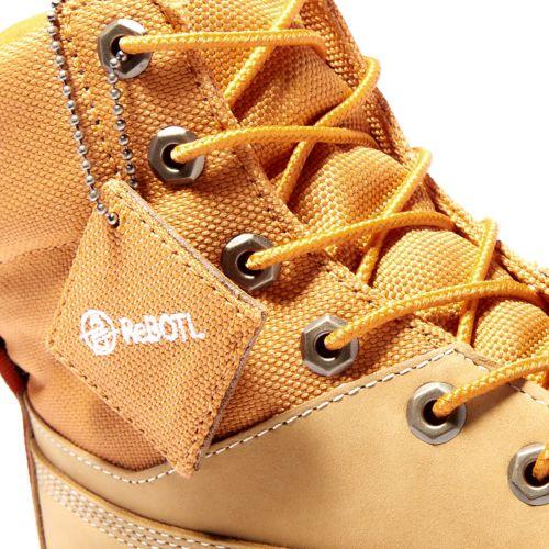 Men's 6-Inch Premium Mixed-Media Waterproof Boots-