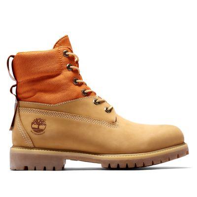 Men's 6-Inch Premium Mixed-Media Waterproof Boots