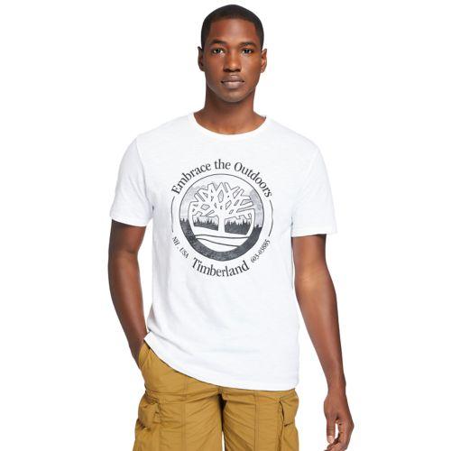 Men's Front-Graphic Slub Tee-