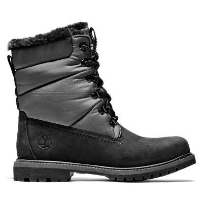 Women's Timberland® Premium 6-Inch Leather/Fabric Waterproof Boots