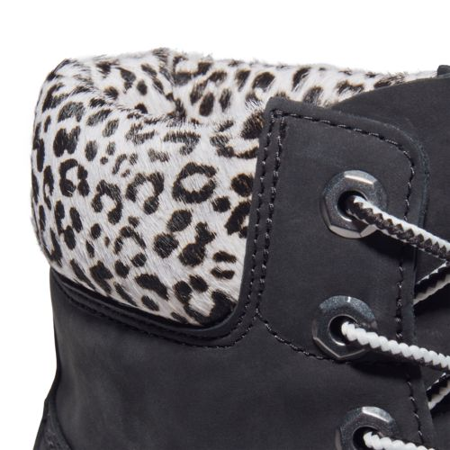 Women's Kinsley Safari Leopard 6-Inch Waterproof Boots-