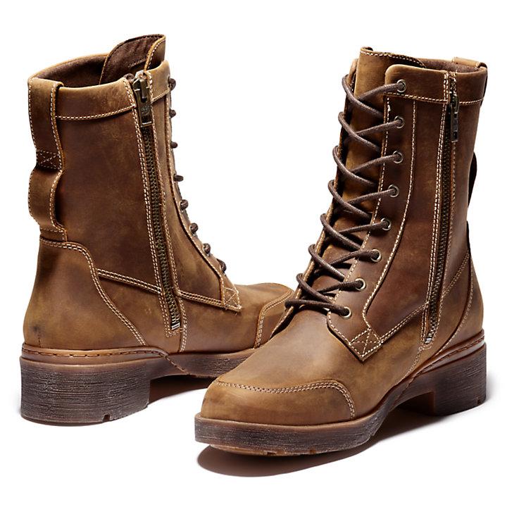 Women's Graceyn Waterproof Lace & Side-Zip Boots-