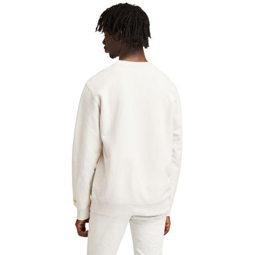 Men's Boot-Logo Crewneck Sweatshirt-