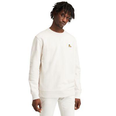 Men's Boot-Logo Crewneck Sweatshirt