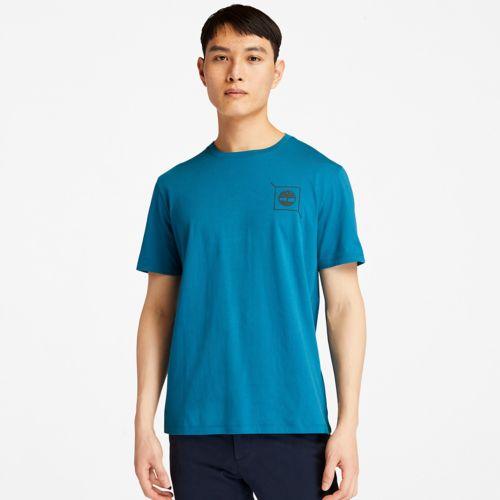 Men's Back-Graphic Logo T-Shirt-