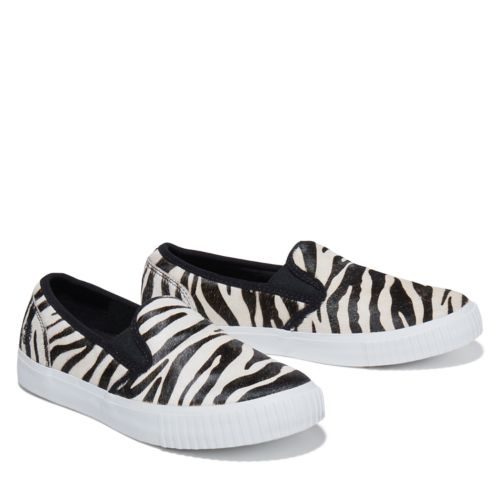 Women's Skyla Bay Safari Zebra Slip-On Shoes-