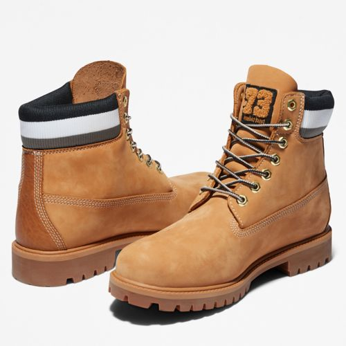 Men's Timberland® Heritage 6-Inch Waterproof Warm Lined Boots-
