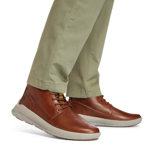 Men's Bradstreet Ultra Leather Chukka Boots-