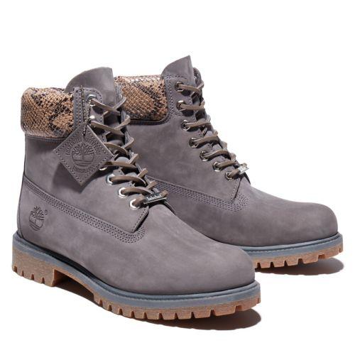 Men's Safari Python 6-Inch Waterproof Boots-