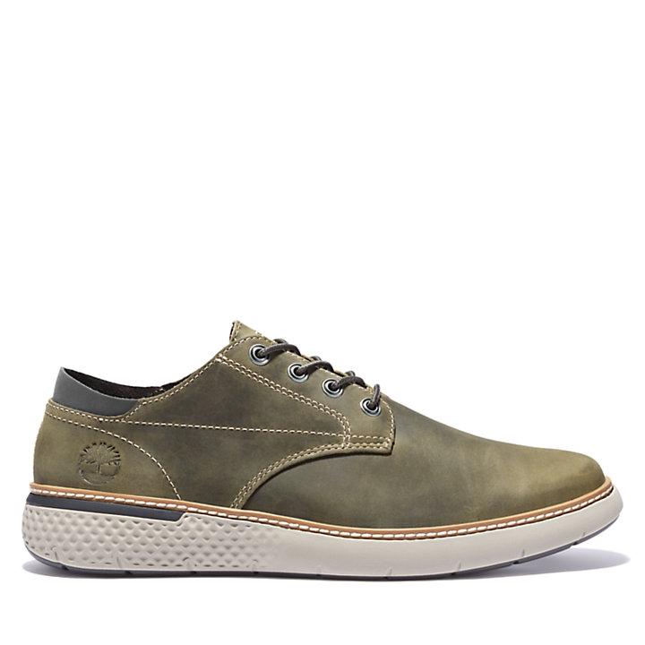 Men's Cross Mark Leather Sneakers-