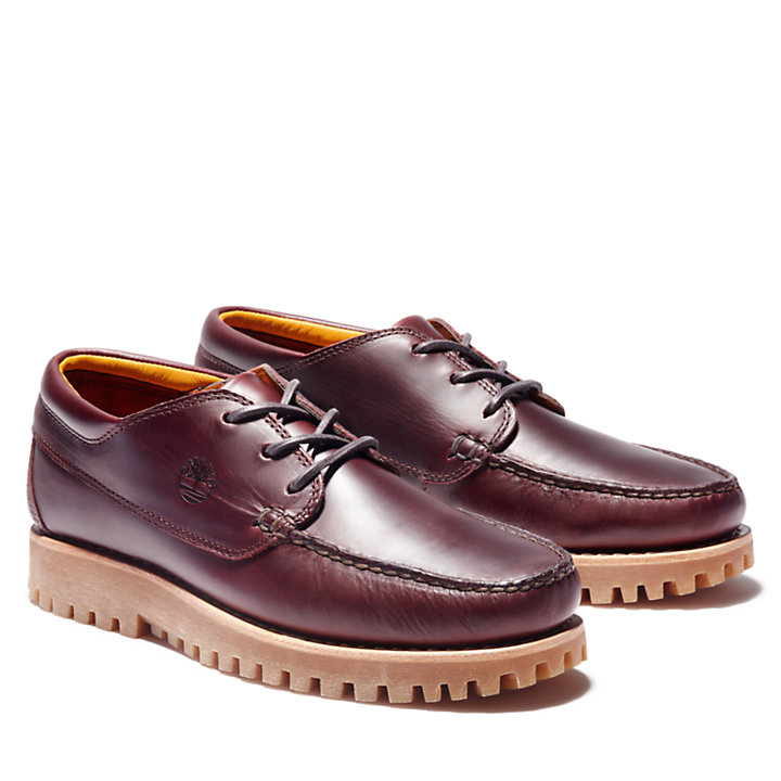 Men's Jackson's Landing Moc-Toe Oxford Shoes-