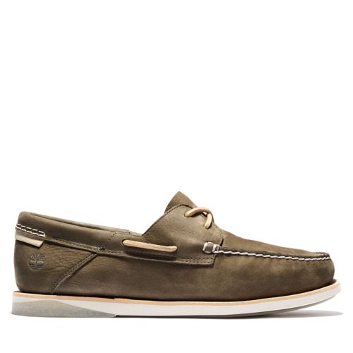 Chaussure bateau en cuir Atlantis Break pour hommes-