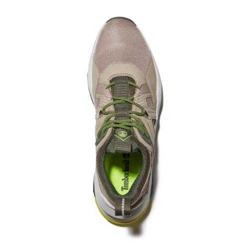 Men's Hi-Vis Madbury Mixed-Media Sneakers-