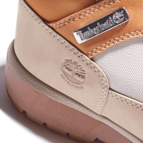 Men's Waterproof Mixed-Media Field Boots-