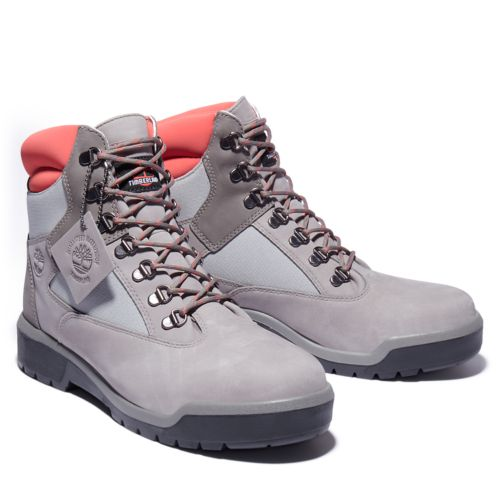 Men's Field Boot 6-Inch Waterproof Mixed-Media Boots-