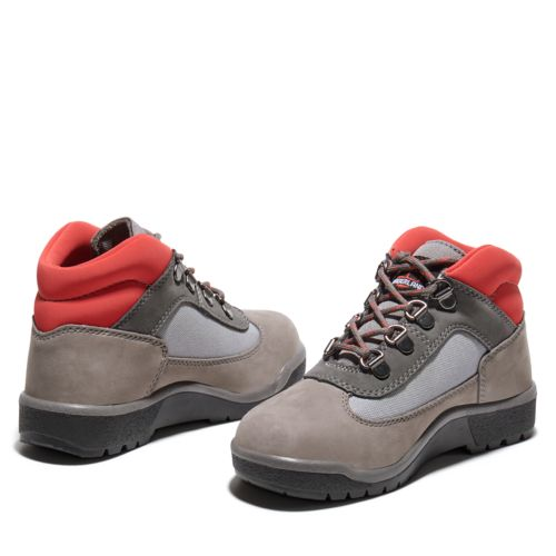 Youth Field Boot Mixed-Media Mid Hiker Boots-
