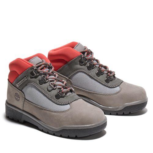 Junior Field Boot Mixed-Media Mid Hiker Boots-