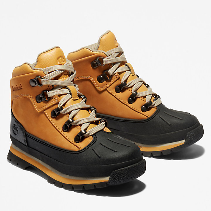 Toddler Shell-Toe Euro Hiker Boots-