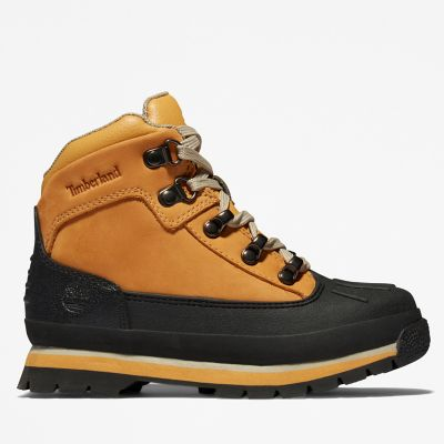 Timberland   Toddler Shell-Toe Euro Hiker Boots   Tuggl