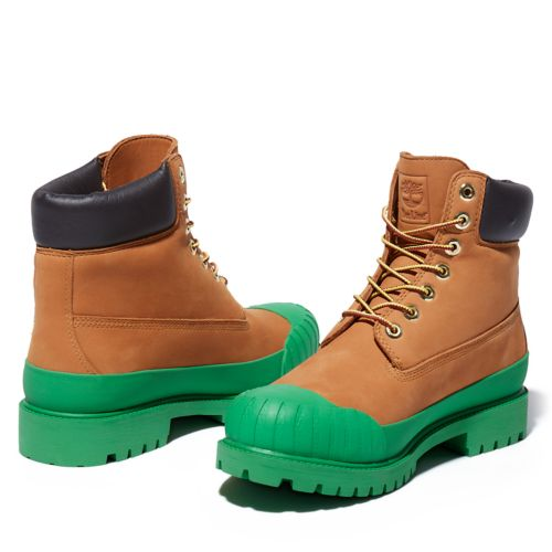Men's Bee Line x Timberland 6-inch Waterproof Rubber Toe Boots-