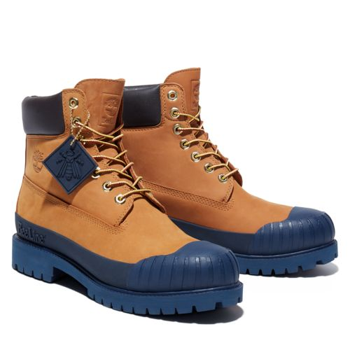 Men's Bee Line x Timberland 6-inch Waterproof Rubber Toe Boots-