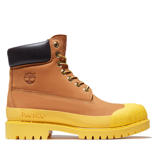 Men's Bee Line x Timberland 6-inch Waterproof Rubber Toe Boots
