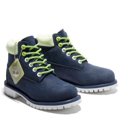 Youth Hi-Vis Timberland® Premium 6-Inch Waterproof Boots-