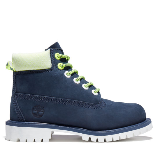 Youth Hi-Vis Timberland® Premium 6-Inch Waterproof Boots