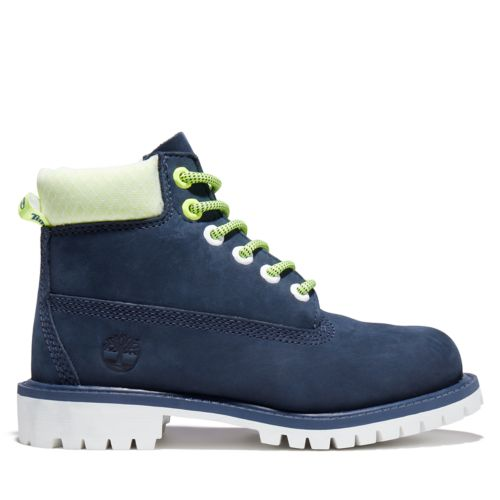 Youth Hi-Vis Timberland® Premium 6-Inch Waterproof Boots-