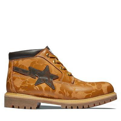 Men's BAPE x Timberland® Premium Waterproof Chukka Boots