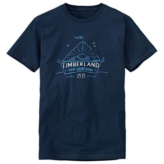 Men's Sailboat Graphic T-Shirt