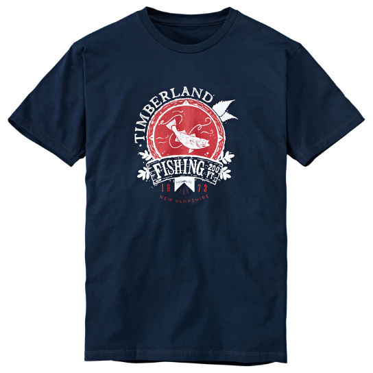 Men's Fishing Graphic T-Shirt