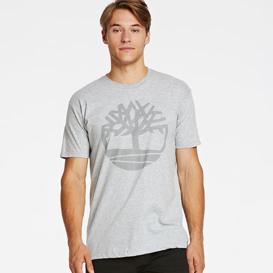 Men's Shining Tree Logo Graphic T-Shirt
