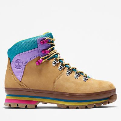 Women's Euro Hiker Mixed-Media Waterproof Boots