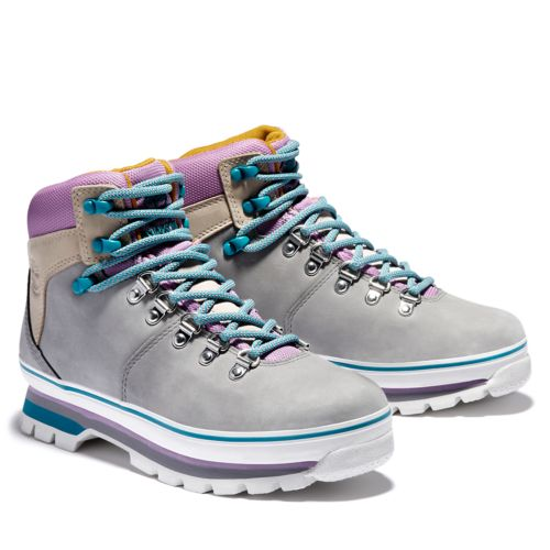 Women's Euro Hiker Mixed-Media Waterproof Boots-