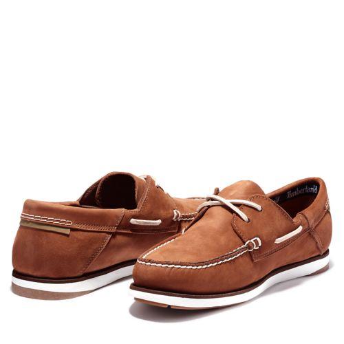 Men's Atlantis Break Leather Boat Shoes-