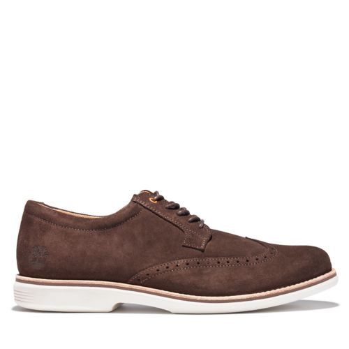 Men's City Groove Brogue Oxford Shoes-