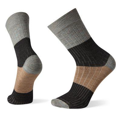 Men's Smartwool® Ribbed Colorblocked Crew Socks