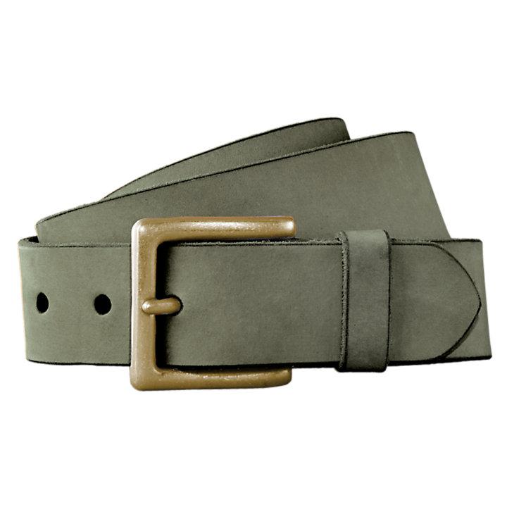Men's Nubuck Leather Jean Belt-