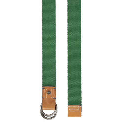 Men's Double O-Ring Reversible Canvas Belt-