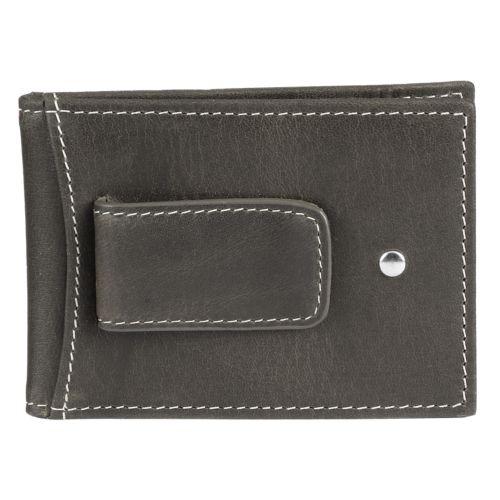 Duxbury Flip Clip Leather Wallet-