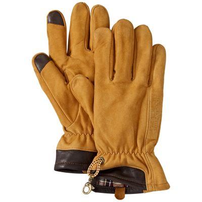 Men's Heritage Nubuck Touchscreen Gloves | Timberland US Store