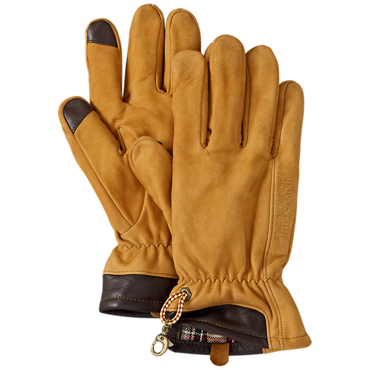 Men's Heritage Nubuck Touchscreen Gloves-