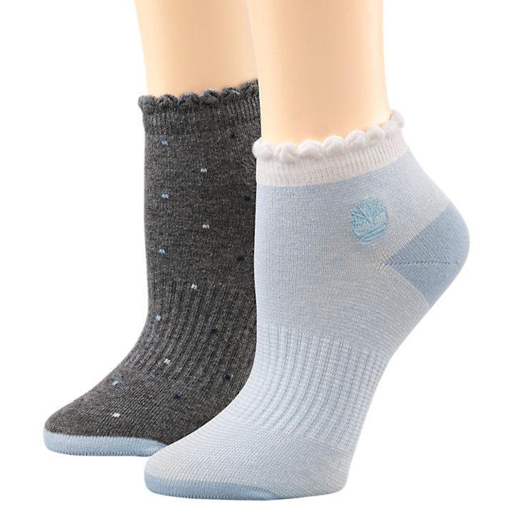 Women's Orchard Beach Organic Cotton Blend Low Sock 2-Pack-