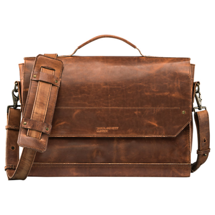 Coulter Leather Messenger Bag-