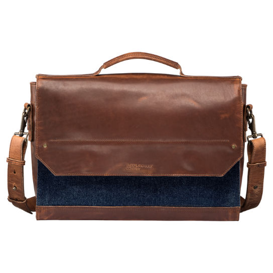 Coulter Denim Messenger Bag